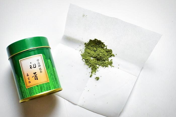 polvere di matcha