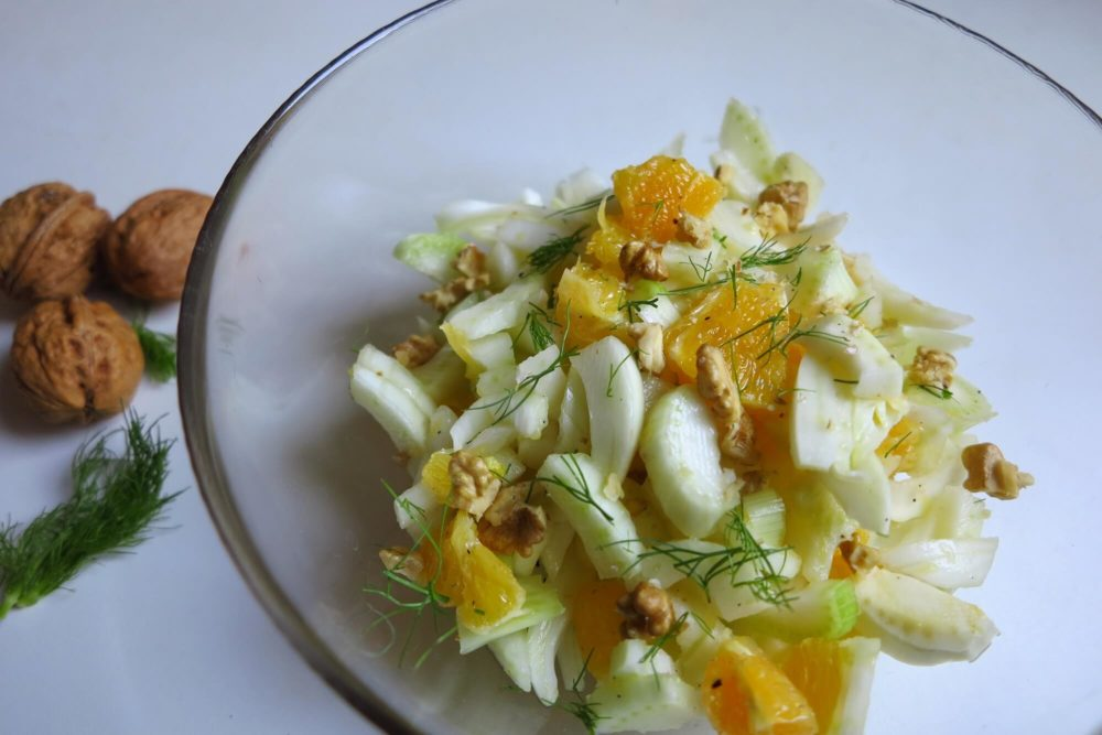 フィノッキオとオレンジのサラダ
