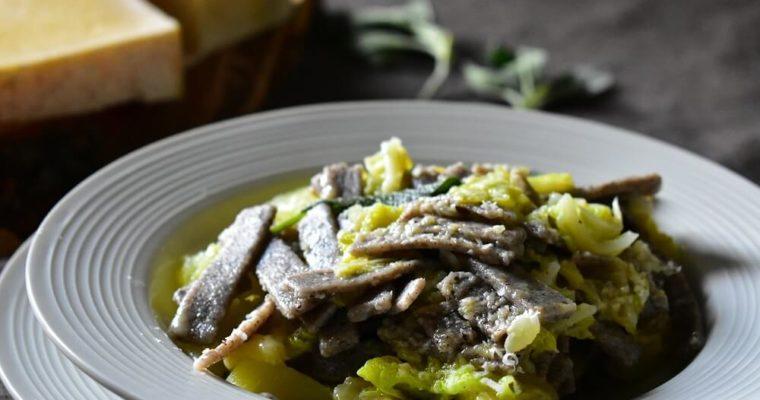 pizzoccheri (piatto tradizionale valtellinese)