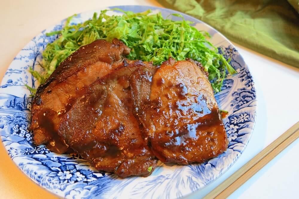 syoga yaki (lonza di maiale in salsa allo zenzero)