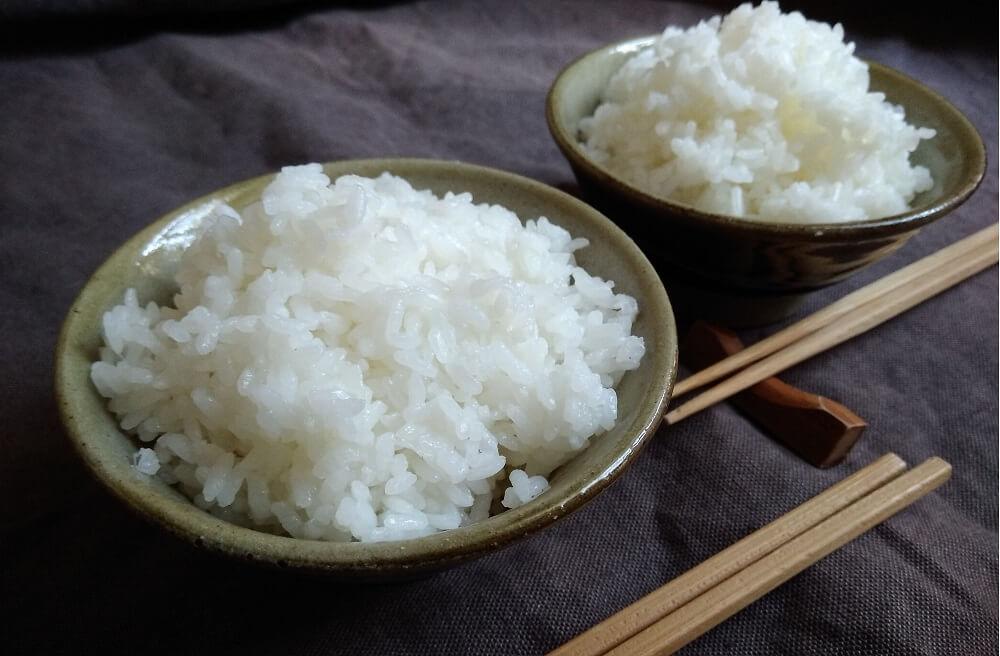 riso bianco alla giapponese