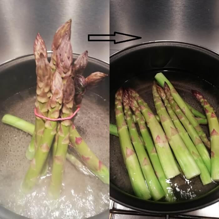 アスパラガスの茹で方 asparagi