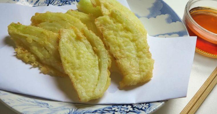 tempura di finocchi