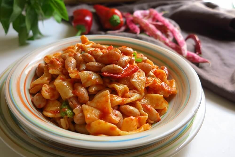 pasta e fagioli fatta in casa (ricetta tradizionale abruzzese)