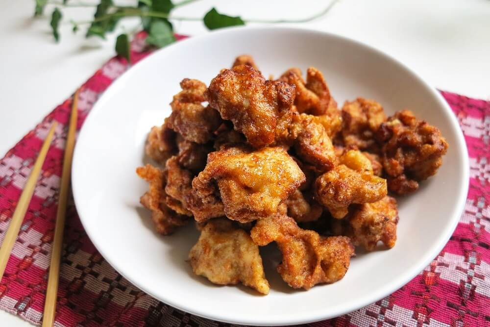 kara-aghe (pollo fritto alla giapponese)