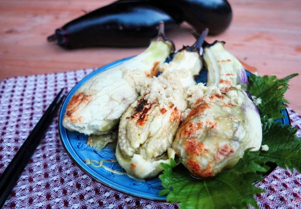 yaki nasu (melanzane arrosto)