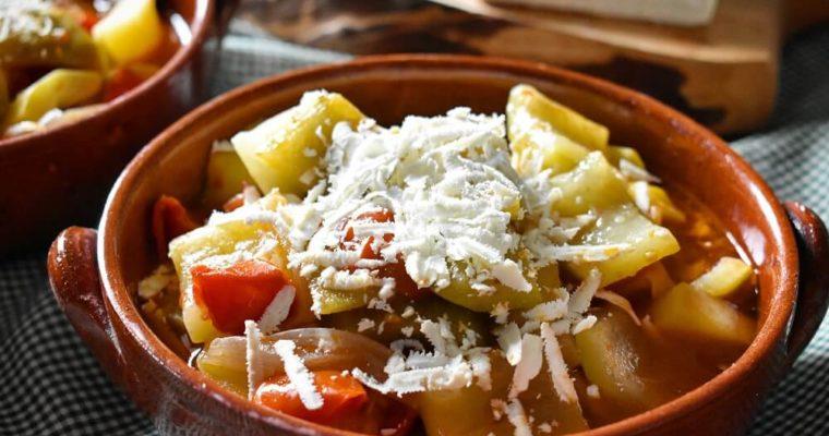minestra di cucuzza alla siciliana
