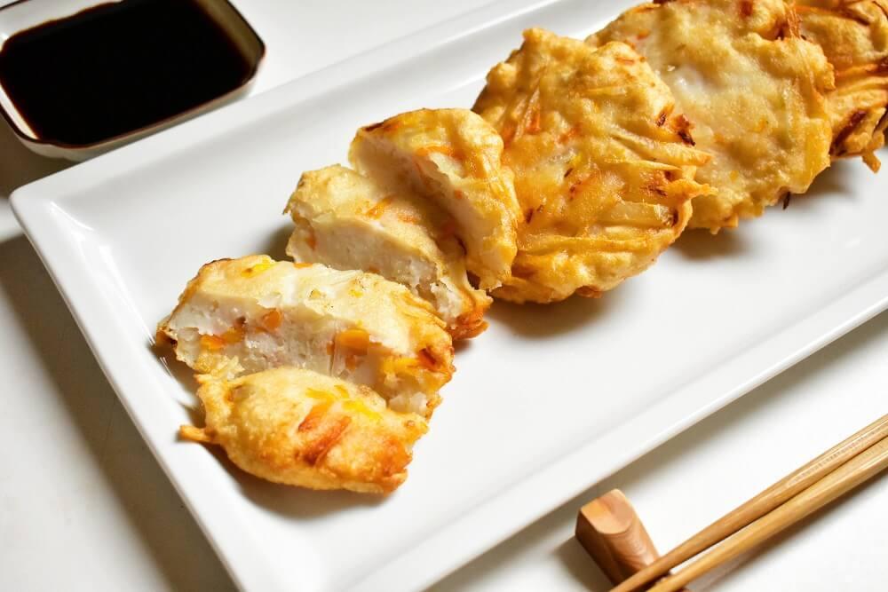 satsuma-aghe (polpette di surimi fritto alla giapponese)