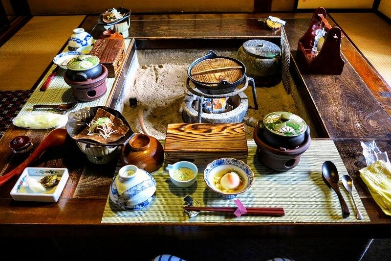 colazione al ryokan