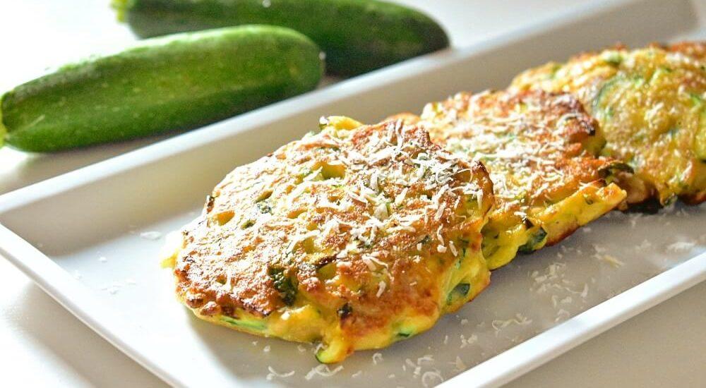 pancake salati con zucchine e tonno