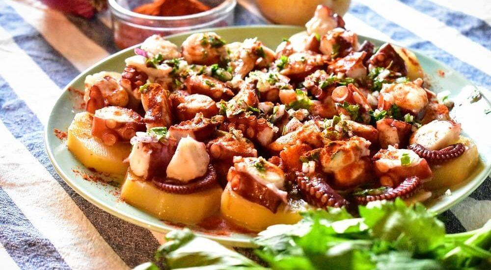 pulpo a la gallega (ricetta galiziana)