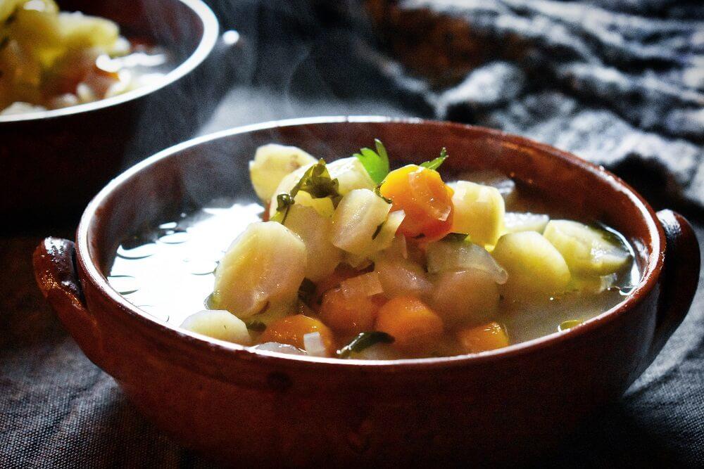zuppa di radice amara
