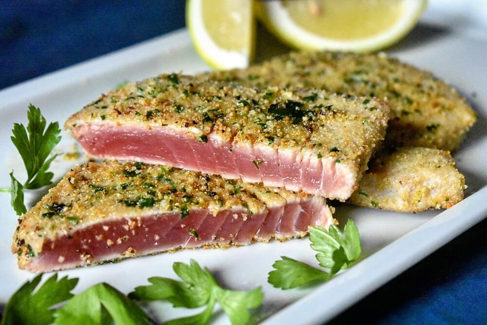 cotoletta di tonno
