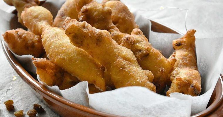 クリスペッレ(アブルツォ州の揚げ菓子)