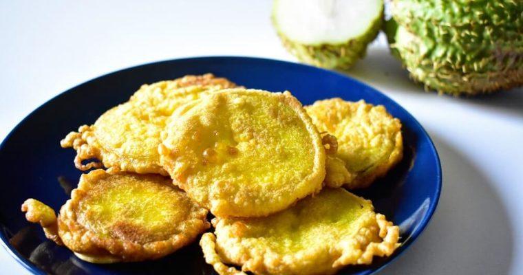 frittelle di chayote (zucchina spinosa)