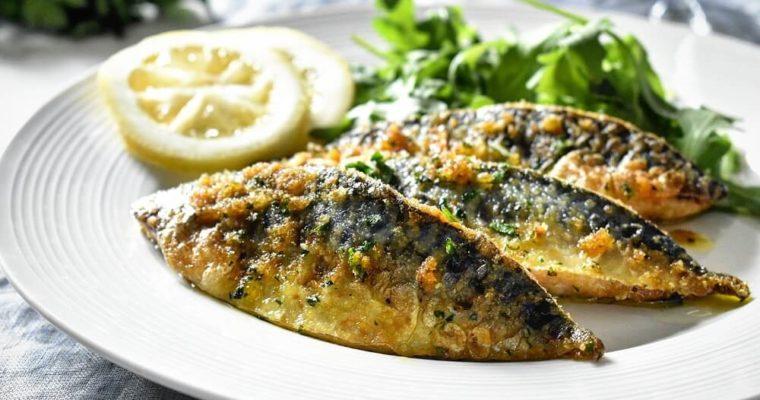 フライパンで作る鯖の香草パン粉焼き