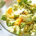 ロマネスコとオレンジのサラダ insalata di broccolo romanesco e arancia