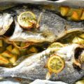 鯛の香草レモン焼き orata al forno
