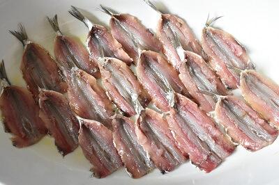 sardine al forno iイワシのパン粉焼き