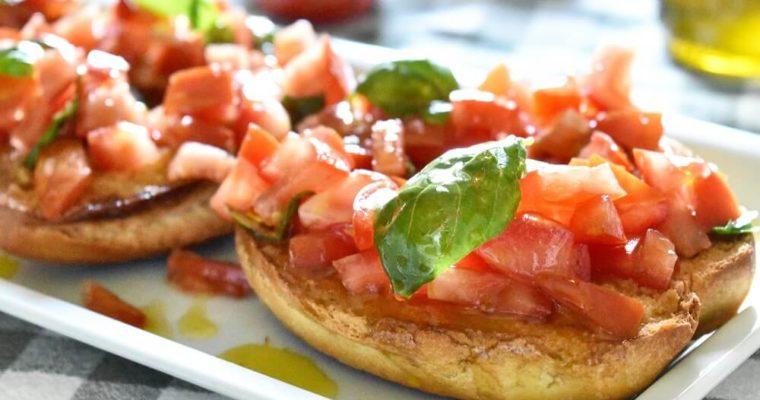 フリセッレとトマト
