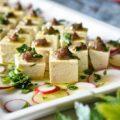 antipasto di tofu e acciughe 豆腐とアンチョビの前菜