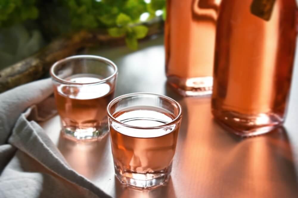 手作りプラム酒