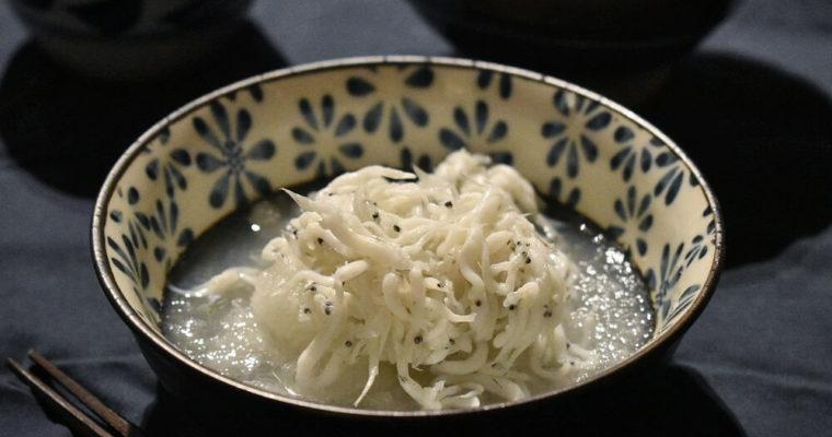 bianchetti con daikon alla giapponese