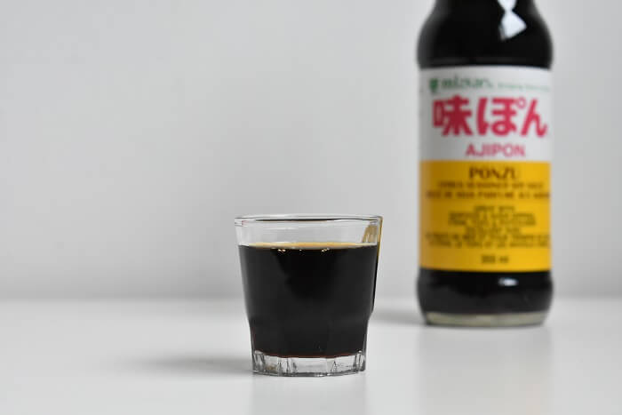 la salsa ponzu ポン酢