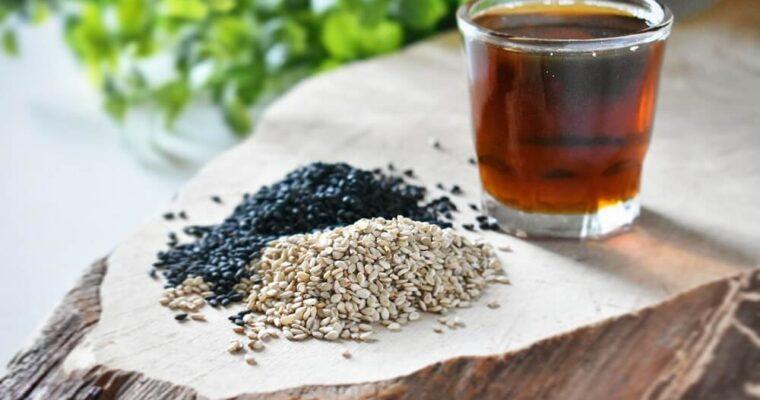 il sesamo e l'olio di sesamo in cucina