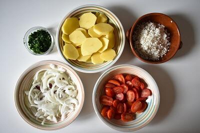 ムール貝 ティエッラ tiella riso patate e cozze