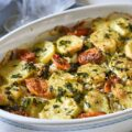 ムール貝のティエッラ tiella barese, riso patate e cozze