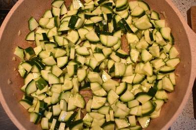 pasta integrale con crema di zucchine