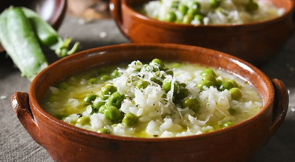 risi e bisi (minestra tradizionale veneta)