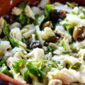 バッカラ(バカラウ)とオリーブとルッコラのサラダ, insalata di baccalà, oliv e e rucola