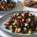 insalata di riso venere ヴェネレ米のサラダ